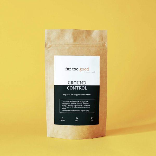 ceai verde organic detoxifiant