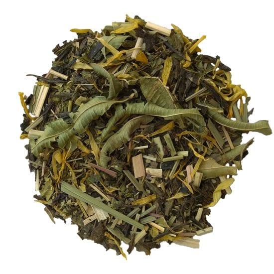 ceai verde detoxifiant organic cu plante medicinale