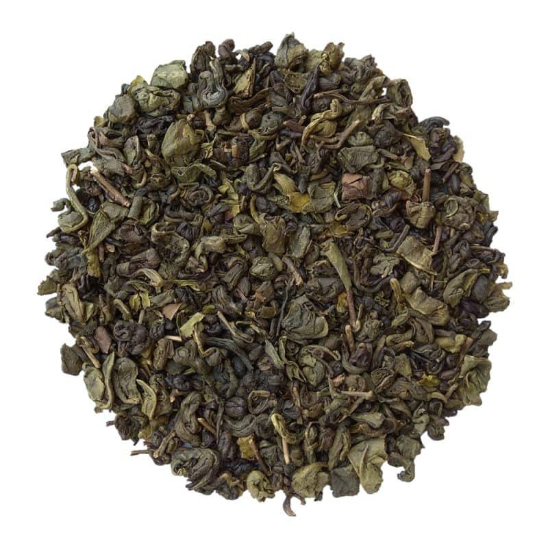 ceai verde organic cu menta