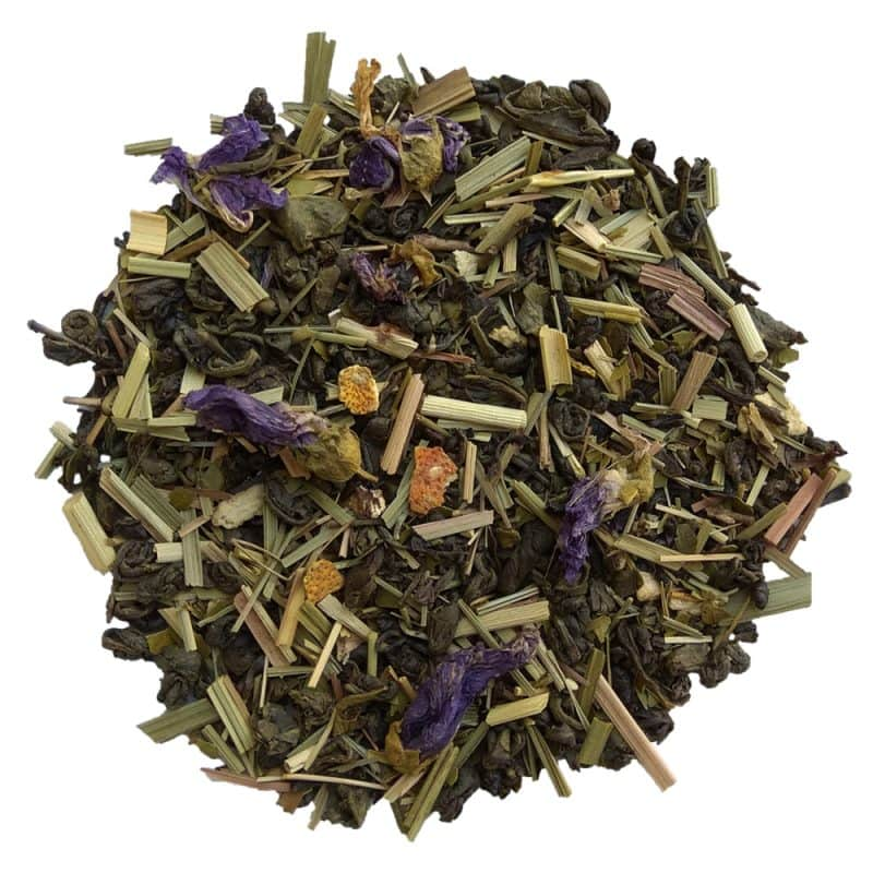 ceai verde energizant organic