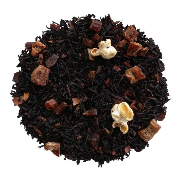 ceai negru organic cu ciocolata raw