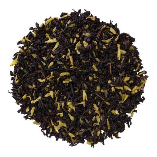 ceai negru organic cu cocos