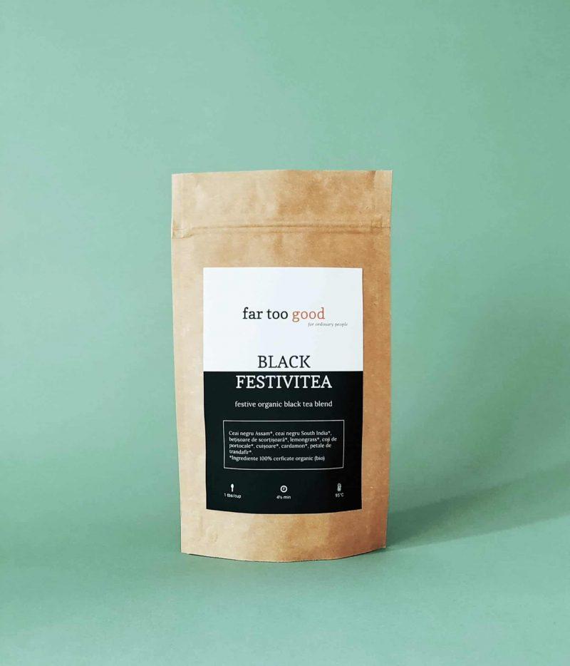ceai negru organic cu scortisoara si cuisoare